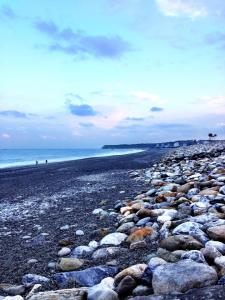 A beautiful view of the Hualien shoreline, one of the many environments in Taiwan