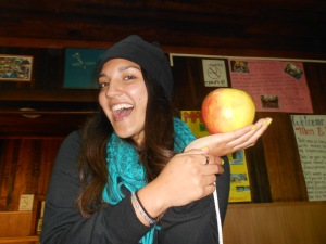 Pucón had the biggest apples in the world!