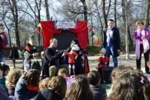 puppet show in the park