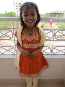 The happiest little Tanvi