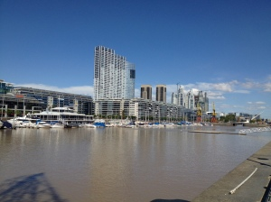 The port of Buenos Aires