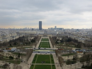 Views from Eiffel Tower
