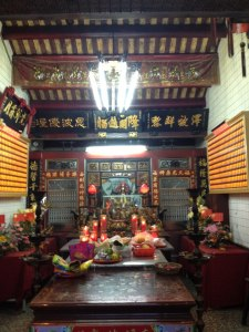 A small daoist temple in Toucheng, a small city in Yilan County
