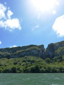 The coast of some islands in Venezuela