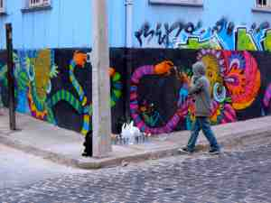 Art unfolds all around you in Valparaiso