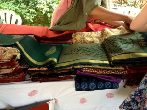 Bargaining for saris