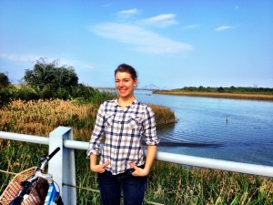 Biking in Yilan County near Luodong, where I live and teach in Taiwan