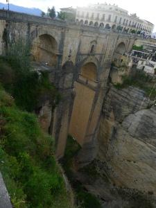 Bridge over Cliffs in Ronda
