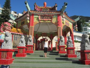 Buddhist Shrine in Repulse Bay
