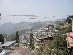 Darjeeling mountain tops