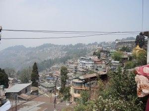 Darjeeling mountain tops