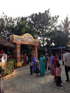 Entrance to Shilparamam