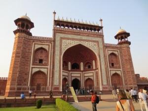 Entrance to the Taj