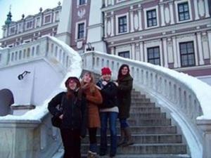 Friends in Zamosc