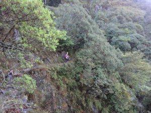 Hiking in Taiwan's beautiful mountains