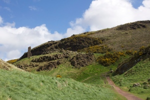 Hiking to Arthur's Seat