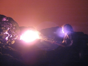 I want to be... fearless! Even of lava!