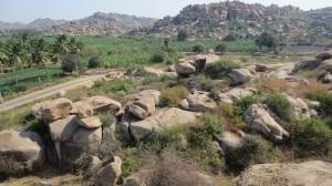Incredible rocks in Hampi