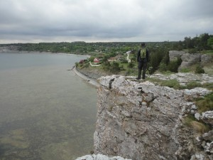The Cliffside of southern Gotland.