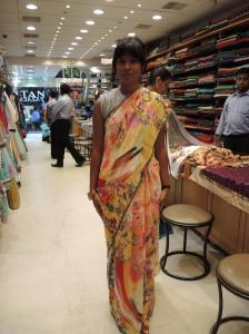 Me in a sari