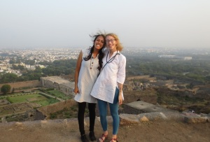 Montana and I above Hyd
