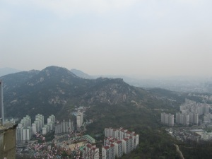 Moutains in Seoul