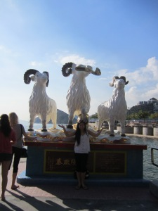 Rams Statue