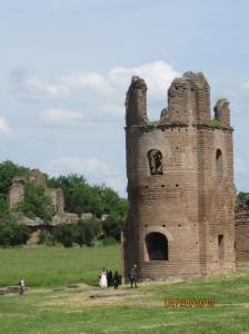 ruins along Appian Way