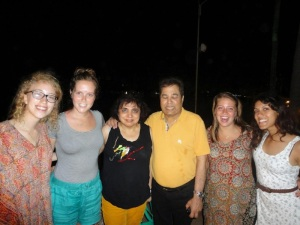 The most unflattering picture possible of our adopted parents in Goa