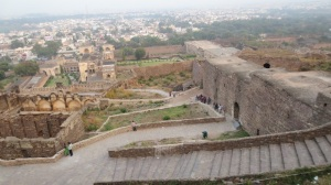 View from Golconda Fort