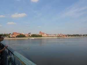 Vistula River in Torun